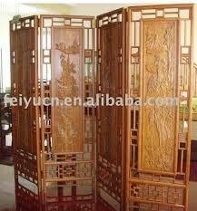carved wood room divider bamboo room divider screen bamboo room divider screen suppliers