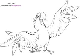 adventures tale of birds rio 20 rio coloring pages free printables
