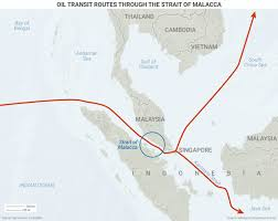 Swa Route Map Maps Oil Trade Choke Points Person Gulf And East Asia Business