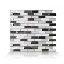 Murano Metallik Peel And Stick Tile Backsplash Online Shop - Smart tiles backsplash
