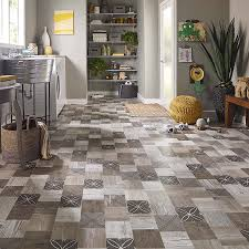 Laminate Flooring At Lowes Shop Pergo Max Premier 6 14 In W X 4 52 Ft L Crestwood Tile Smooth