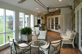 contemporary porch with french doors by bruce palmer zillow digs