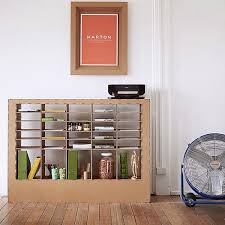 cara membuat lemari buku dari kardus bekas kreatif membuat rak buku dari kardus