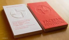 Premium Business Cards Embossed Premium Sample Pack