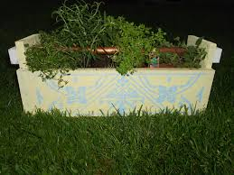 the moonlight factory diy herb planter and herbs