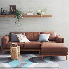 Best  Small Leather Sofa Ideas On Pinterest Furniture Decor - Small leather sofas for small rooms 2