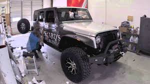 matte black jeep 2 door jeep wrap installation youtube