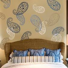 stencils for home decor stencil vintage paisley med reusable wall stencil for diy home