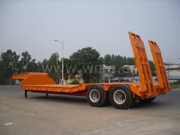 Low Bed by Low Bed Trailer China Low Bed Trailer Low Loader Flat Bed Lowboy