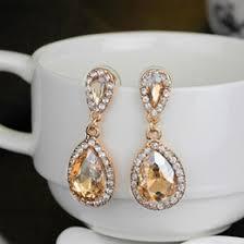 Chandelier Earrings Bridal Champagne Chandelier Earrings Online Chandelier Champagne