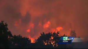 Wildfire Cali by Northern California Wildfire Forces Hundreds To Evacuate La Times