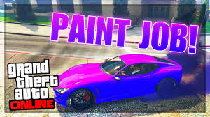 gta 5 paint jobs fluorescent purple paint job online gta 5 rare