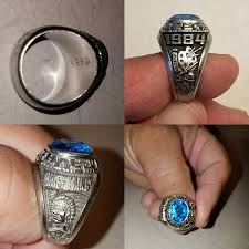 highschool class ring 1984 sapulpa high school class ring found in tucson arizona