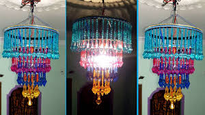 how to make home decoration how to make jhumar chandelier wall hanging decoration beaded