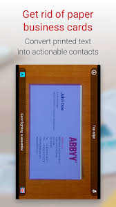 Sales Business Card Business Card Reader Pro Business Card Scanner Android Apps On
