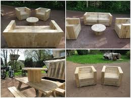 Pallet Garden Furniture Diy Diy Cheap Garden Furniture Pallet Tree Houses Pallets Garden