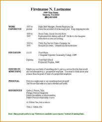 6 chronological resume templates skills based resume