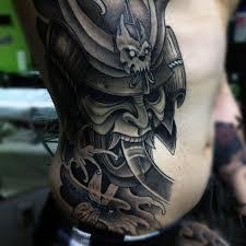 100 japanese samurai mask designs for tattoos for