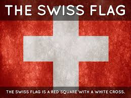 White Cross On Red Flag Switzerland By Marlie V By Marlie Voss