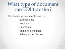 edi electronic data interchange