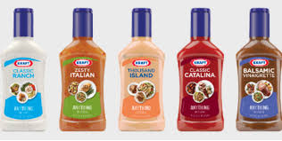 kraft anything dressing bottles print image creativity online