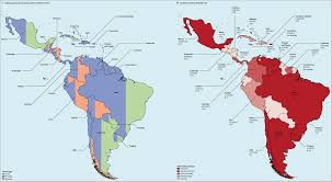 Map Central And South America by Planning Cancer Control In Latin America And The Caribbean The