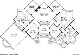 Manor House Floor Plan House Plan The Iverness Manor By Donald A Gardner Architects