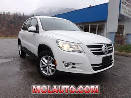 suv volkswagen 2010 2010 volkswagen tiguan for sale in trail bc used volkswagen sales