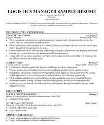 Logistics Manager Resume Sample by 19 Logistics Manager Resume Sample Top Oil Amp Gas Resume