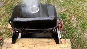 Backyard Charcoal Grill by Backyard Portable Grill From Walmart 15 Youtube