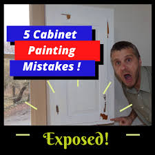 is it a mistake to paint kitchen cabinets common mistakes made in cabinet painting homestead cabinet