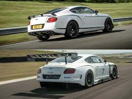 bentley gt3 bentley continental gt3 r vs gt3 racecar comparison how far they