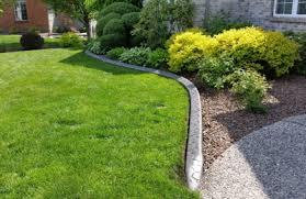 distinctive edge concrete landscape edging middleville mi 49333