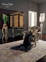 venetian living room designed following the classic forms living