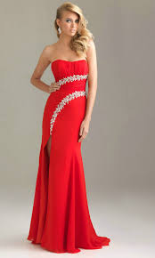 and amazing red prom dresses with slits elite wedding looks
