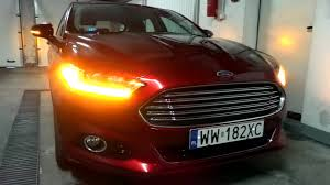 ford fusion hazard lights 2015 2016 ford fusion mondeo mk v led lights dynamic turn signals