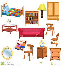 livingroom cartoon room table clipart