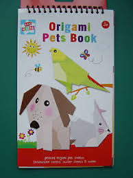 Origami Pets - origami pets book printed animal sheets sticker