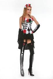 sugar skull costume skeleton day of the dead costume women s sugar skull