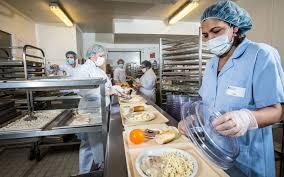cuisine hopital visite de la blanchisserie et de la cuisine centrale du ch de decize