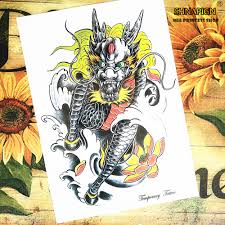 Tattoo Home Decor Compare Prices On Black Unicorn Tattoos Online Shopping Buy Low