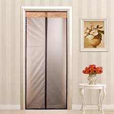 Curtain Door Magnetic Thermal Insulated Door Curtain Enjoy Your Cool Summer And