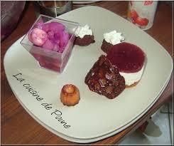 assiette cuisine assiette gourmande de desserts la cuisine de poune
