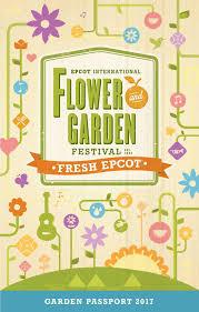 2017 epcot international flower and garden festival passport