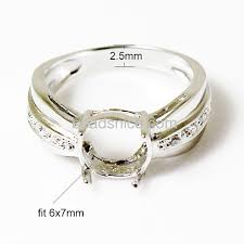 ring mountings wholesale ring mountings 925 sterling silver jjewelry ring
