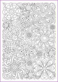 abstract doodle zentangle coloring pages colouring detailed