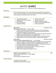 exle of resumes for best resume exle livecareer sle resumes for