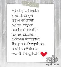Bridal Shower Gift Poems Baby Shower Gift Card Poems Baby Shower Diy