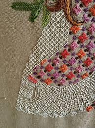 185 best vintage embroidery kits images on vintage