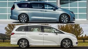 Honda Odyssey Pics Chrysler Pacifica Vs Honda Odyssey U2013 No Contest